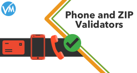 Phone and zip validators for VirtueMart