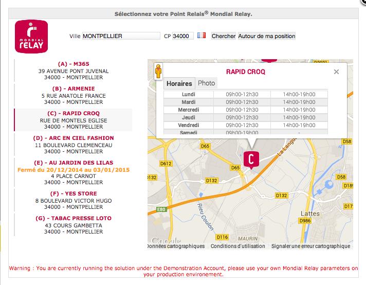 livraison mondial relay le samedi 28 images la livraison gratuite et l 233 change gratuit  # Mondial Relay Aulnay Sous Bois